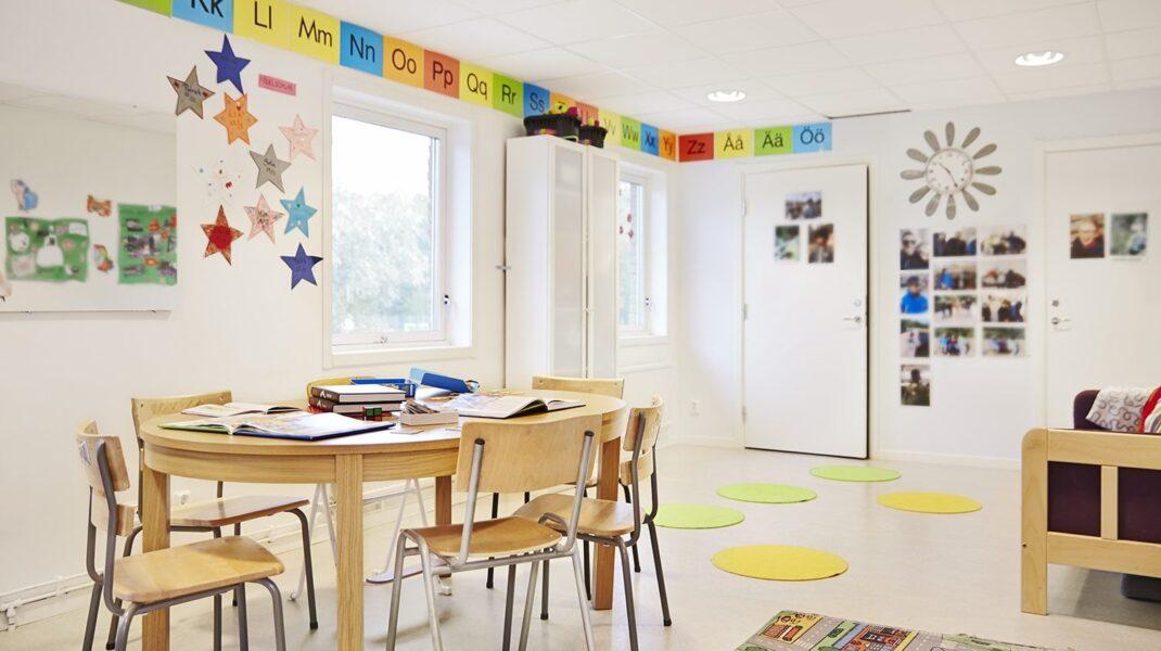klassrum i Järva VIP