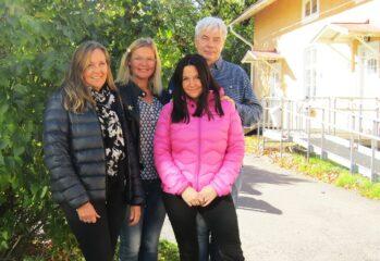 Gruppbild Traneberg och Tutemo i Hagfors