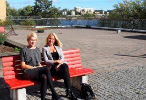 Lisa Hjalmars och Charlotte Bostig